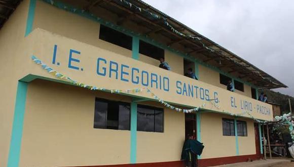 """Gobierno Regional de Cajarmarca autorizó la creación del colegio """"Gregorio Santos Guerrero"""". (Difusión)"""