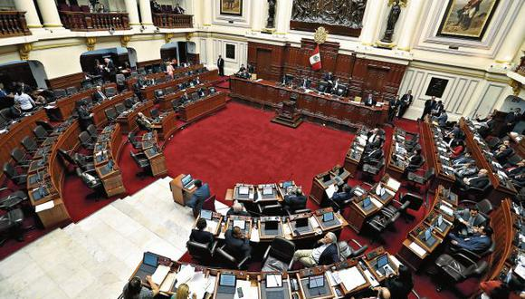 El Pleno del Congreso fue el escenario para la alianza política de FP y el Apra. (Perú21)