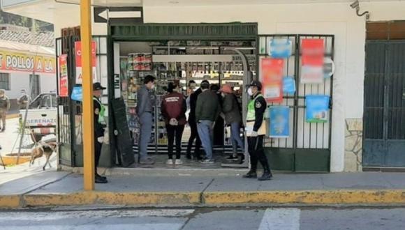 Áncash: Autoridades intervienen 47 farmacias para verificar precios en medicamentos para COVID-19. (Foto: Andina)