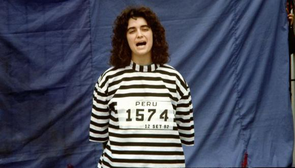 Maritza Garrido Lecca fue capturada en 1992, en el mismo operativo y en el mismo lugar que Abimael Guzmán (Difusión)