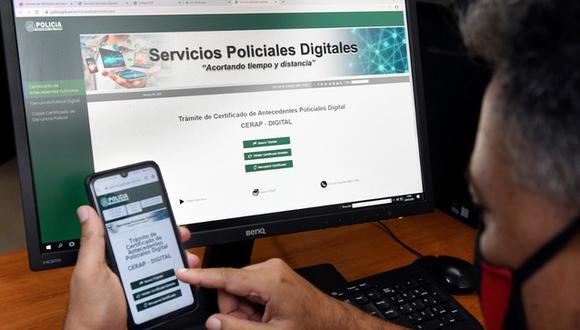 Trámite se puede hacer desde smartphones con conexión a internet. (Foto: Ministerio del Interior)