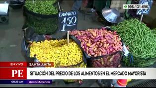 Conozca los precios de los alimentos en el Mercado Mayorista de Lima