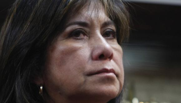 Martha Chávez dice que iniciativa es innecesaria. (Mario Zapata)