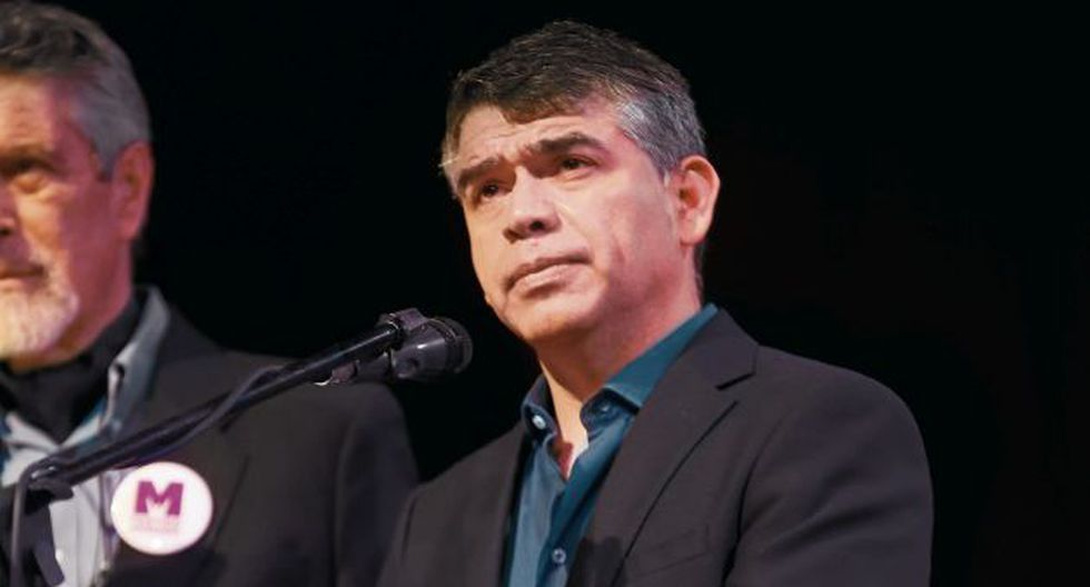 Julio Guzmán ha evitado a la prensa tras sostener que solo su esposa merece explicaciones. (GEC)