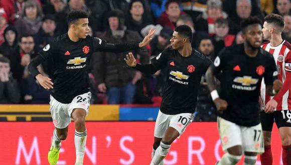 Manchester United vs. Aston Villa se miden en la jornada 14  de la Premier League. (Foto: AFP)