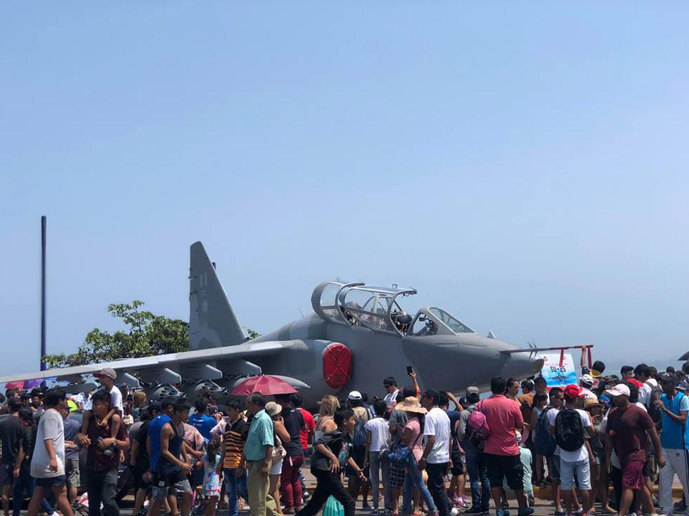 Fuerza Aérea del Perú lleva a cabo el Primer Festival Aerodeportivo en la Costa Verde. (Esther Vargas/Perú21)