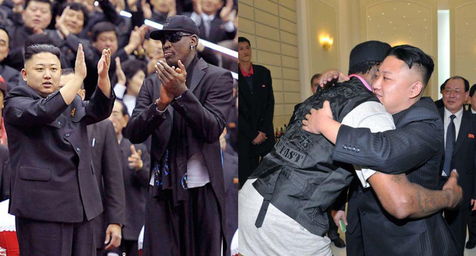 """Dennis Rodman sobre presunta muerte del líder norcoreano, Kim Jong-Un: """"Espero que sea solo un rumor"""". (Foto: AFP)"""