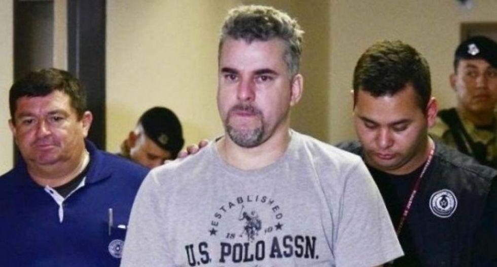 Marcelo Pinheiro era considerado como el jefe del Comando Vermelho en Paraguay y como el mayor abastecedor de las drogas y las armas que ingresan a Brasil desde el país vecino. (Foto: EFE)