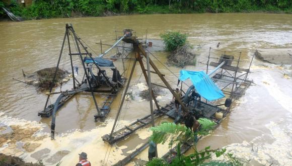 Interdicción contra la minería ilegal no se detiene. (USI)