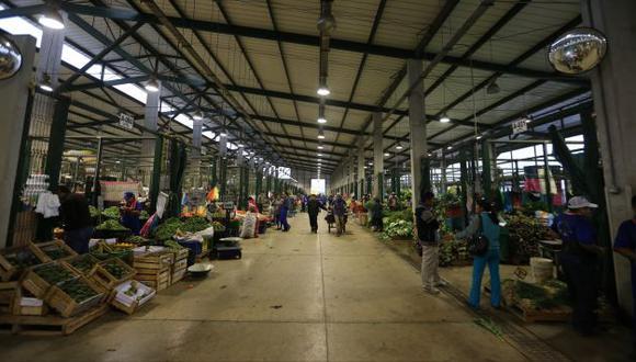 Gran Mercado Mayorista de Lima aún presenta deficiencias. (USI)