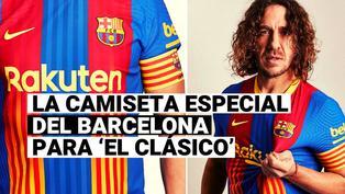 Conoce la camiseta especial de Barcelona para el próximo duelo ante Real Madrid