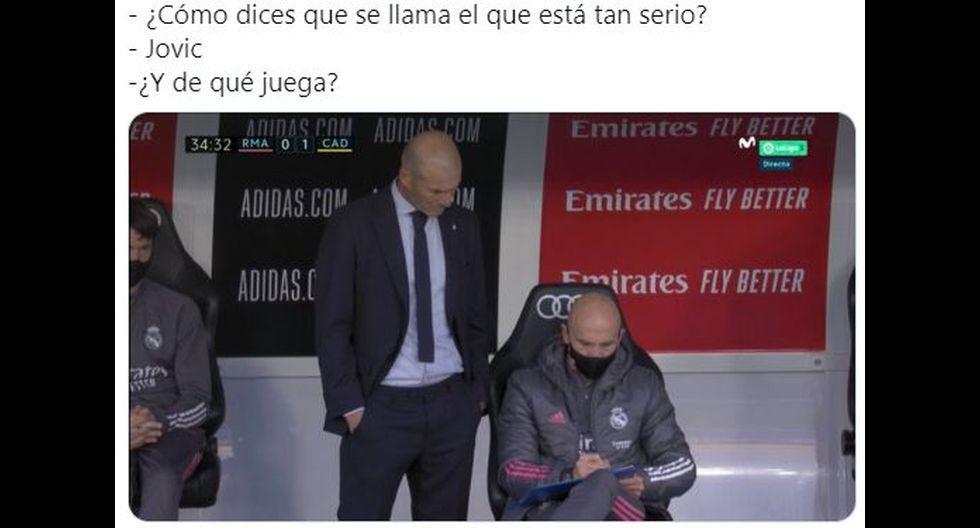 Los memes del Real Madrid vs. Cádiz por LaLiga. (Foto: Facebook)