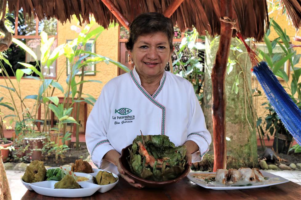 Elia García: la señora del sabor en la Amazonía. (Esther Vargas/Perú21)