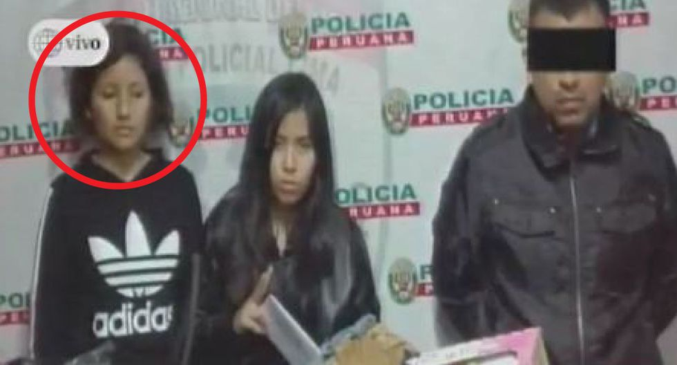 Entre sus antecedentes policiales, la joven fue detenida en un dos ocasiones en comisarías del Cono Norte por haber dopado y ropado a otros hombres. (Captura/Canal 4)
