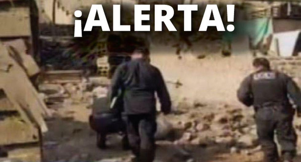 Granada tipo piña generó pánico en San Antonio de Huarochirí