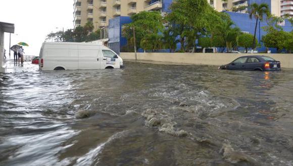 Huracán causó inundaciones en varias ciudades mexicanas. (EFE)