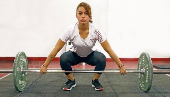 Fiorella Cueva fue parte de la selección de levantamiento de pesas en los Juegos Panamericanos Lima 2019. (Foto: IPD)