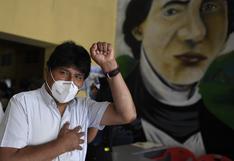 Evo Morales inicia tratamiento médico tras dar positivo por COVID-19