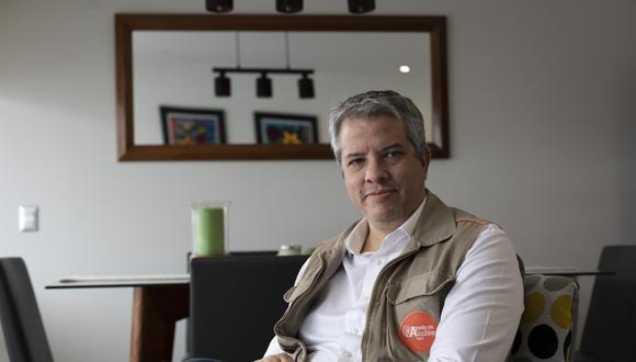 William Campbell es director de la Fundación Ayuda en Acción en Perú. (FOTO: LEANDRO BRITTO)