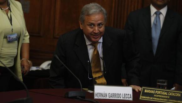 Exministro fue al Congreso. (Mario Zapata)