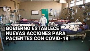 El Gobierno estableció nuevas acciones para los pacientes diagnosticados con coronavirus