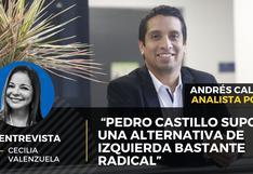 """Andrés Calderón: """"Pedro Castillo supone una alternativa de izquierda bastante radical"""""""