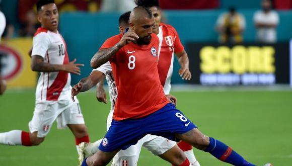 Arturo Vidal es el quinto jugador con más partidos en la historia de la selección de chile. (Reuters)