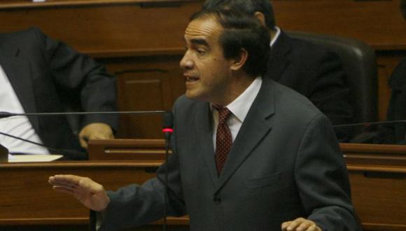 MALA VIBRA. Lescano admitió que hay diferencias con Perú Posible. (César Fajardo)