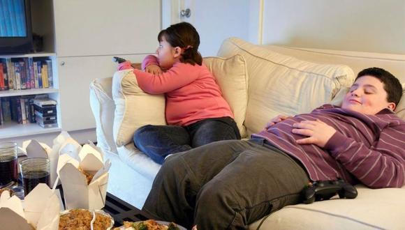Obesidad en niños archivo