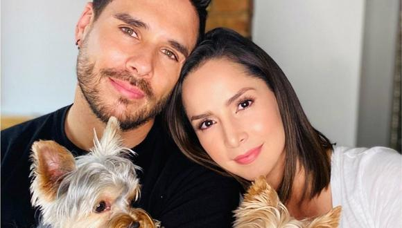 Carmen Villalobos y sebastián Caicedo recurrieron a las redes sociales para anunciar que están más felices que nunca (Foto: Instagram / Carmen Villalobos)