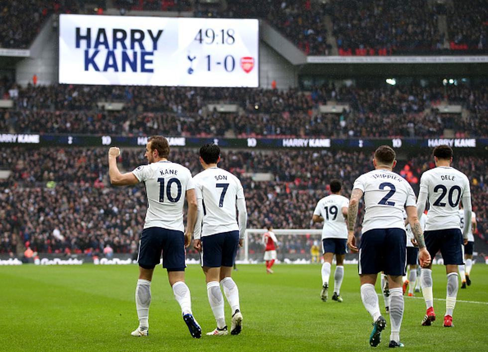 Tottenham sube a las tercera casilla de la liga inglesa. (Getty Images)