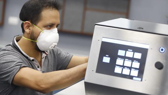 PUCP diseña ventiladores mecánicos para apoyar en la atención a los pacientes de COVID-19. (Foto: Presidencia Perú)