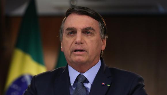 No es la primera vez que Bolsonaro critica al Gobierno del peronista Fernández con quien tienen profundas diferencias ideológicas. (Foto: Handout / Brazilian Presidency / AFP)
