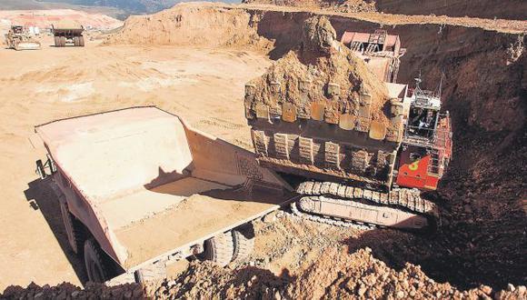 El peso de la minería llegaría hoy a casi el 15% de la producción nacional. (Difusión)