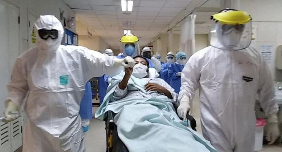 Médico que estuvo 24 días en UCI venció al COVID-19 en Hospital Luis Heysen de Lambayeque. (Foto: Andina)