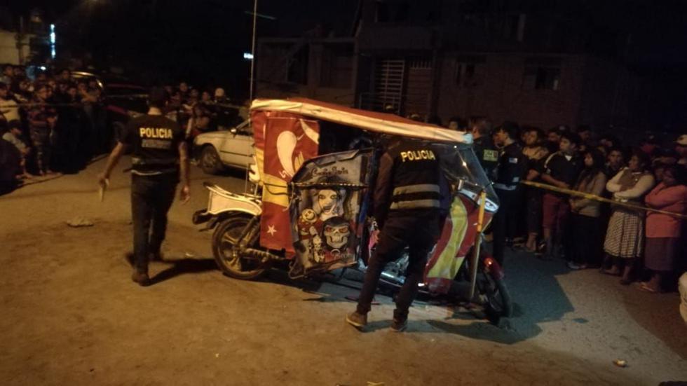 El mototaxista fue atacado cuando dejaba a una pasajera en el distrito de El Porvenir.