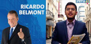 Ricardo Belmont, candidato a la Alcaldía de Lima de Perú Libre