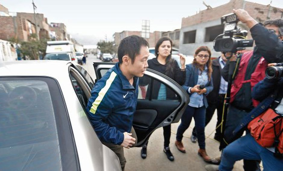 "Luis Galarreta: ""Kenji Fujimori daña imagen del partido"" (USI)"