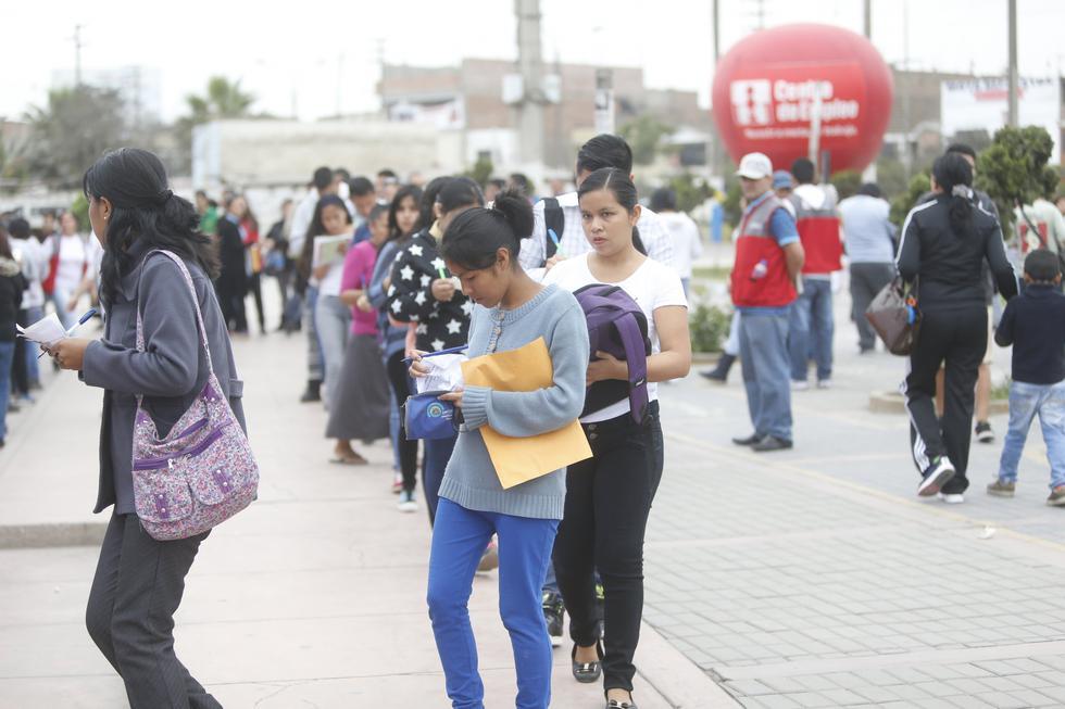 La reducción del desempleo en la región no se registraba desde 2014. (Foto: GEC)<br>
