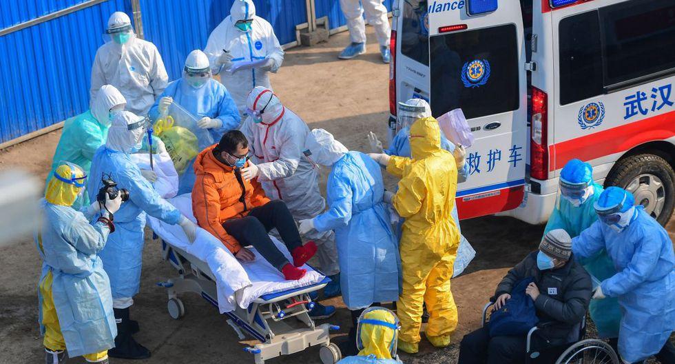 Coronavirus: hospital construido en Wuhan en solo 10 días ya recibe a sus primeros pacientes. (EFE).