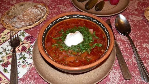 En Rusia y Polonia el borsch también se cocina mucho y, a menudo, se lo considera suyo. (Foto: EFE)