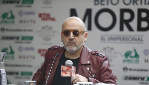 Beto Ortiz anuncia nuevas fechas de su unipersonal 'Morbo'. (Créditos: Mario Zapata)