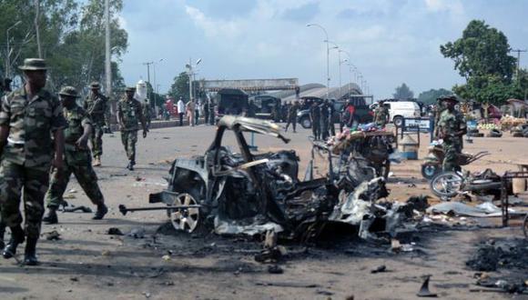 Al menos 42 personas murieron en dos atentados en Nigeria. (AFP)