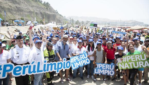 Deportistas promoverán buenas prácticas para no contaminar las playas. (Fotos: Minam)
