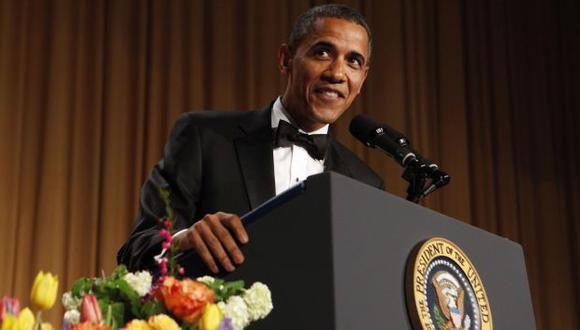 El mandatario se robó las carcajadas del público en la gala. (Reuters)