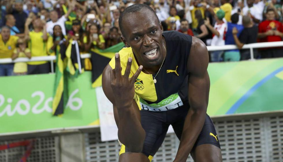 Usain Bolt ganó su tercer oro en Río 2016 en los 4X100m. (Reuters)