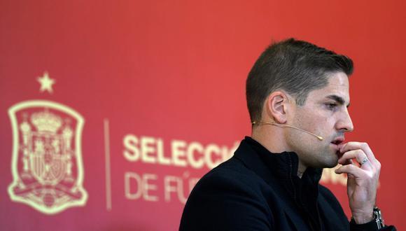 Robert Moreno dejará de ser entrenador de la selección española y Luis Enrique le reemplazará. (Foto: AFP)