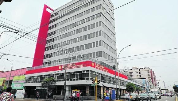 Nueva sede. Edificio Raimondi en La Victoria será la nueva sede para los juzgados de investigación preparatoria de la Corte de Lima. (Foto: Poder Judicial)