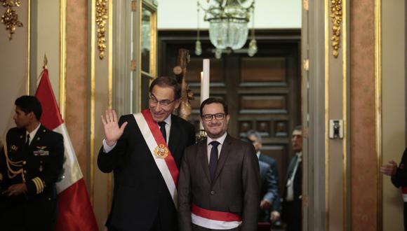 Édgar Vásquez asumió la cartera de Comercio Exterior y Turismo el último martes. (Foto: GEC)