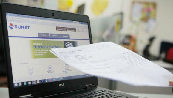 Sunat espera que más de 230,000 empresas emitan facturas electrónicas hacia fin de año. (Foto: USI)